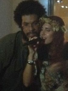 Cristina invited next act, reggae singer Rivah Jordan to duet at the end of her performance