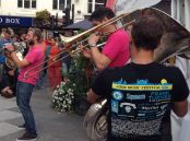 Oompah Brass combine witty banter with hits arranged for their 5 instruments.