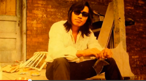 Not got money on his mind. Sixto Rodriguez was the subject of the film Searching For Sugarman